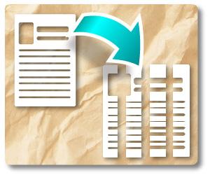 機密書類の廃棄サービス